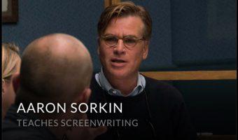23 Tips from Aaron Sorkin's Screenwriting Master Class