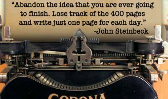 Advice from Steinbeck to Kick Off NANOWRIMO