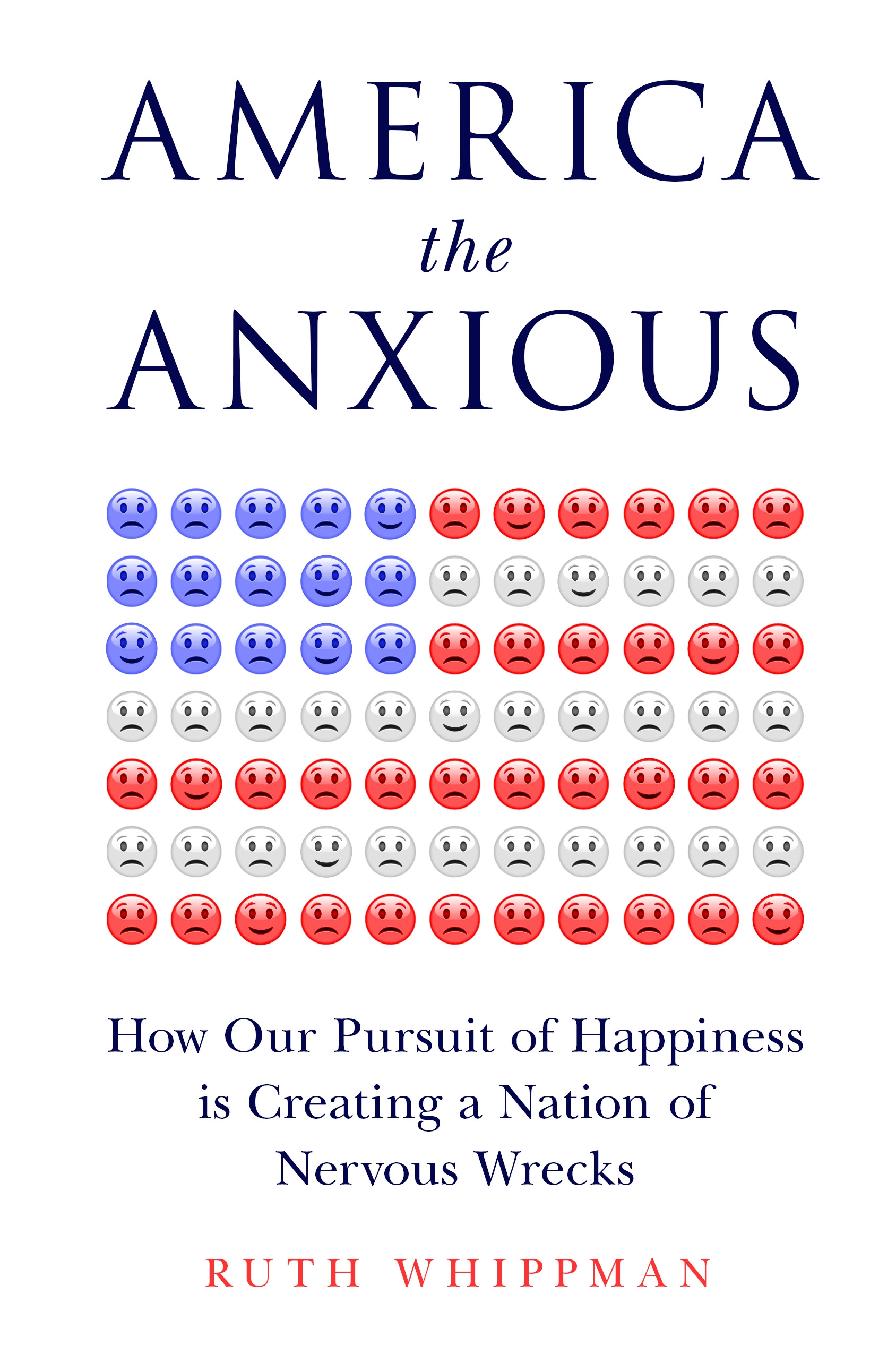 Ruth Whippman America the Anxious cover