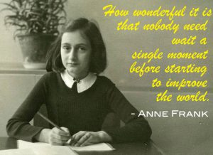 Remembering Anne Frank