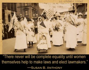 A Last Quote in Celebration of Suffrage