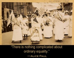 Suffrage Week Continues