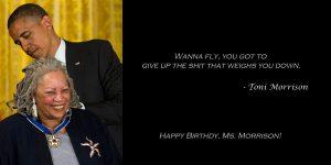 Happy Birthday, Toni Morrison