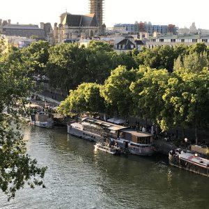 Writing in Paris!